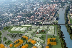 Városrét lakópark látványterve